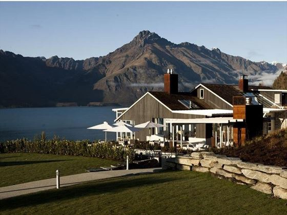 Matakauri Lodge exterior