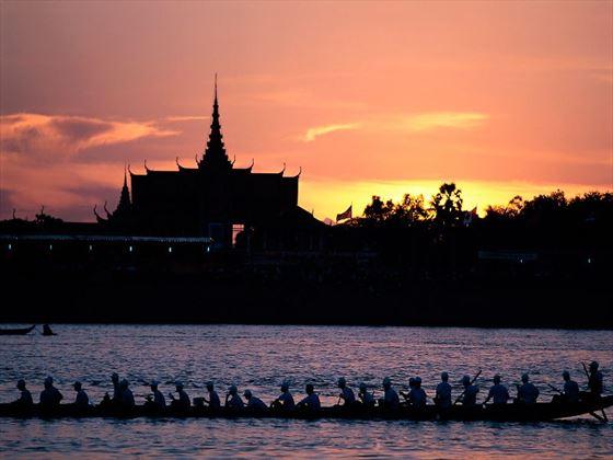 Mekong River at Phnom Penh