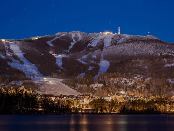 Mont Tremblant by night