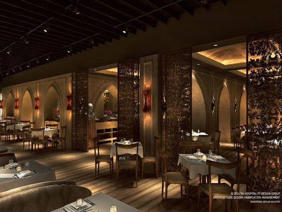 Moon Palace Jamaica Grande Italian restaurant (Artist's Impression)