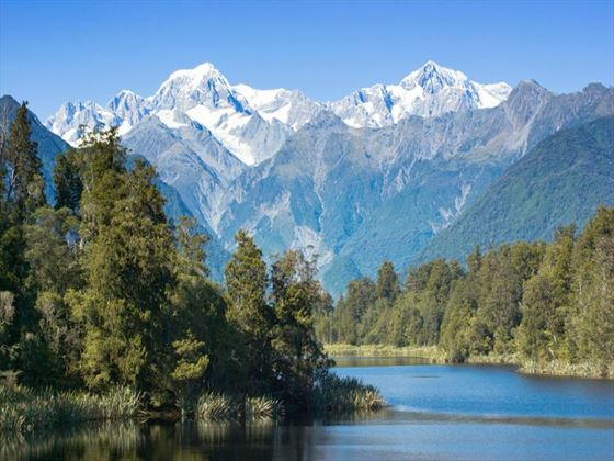 Mt Cook and Lake Matheson