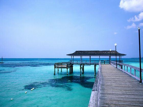 Pier in Nassau, Bahamas