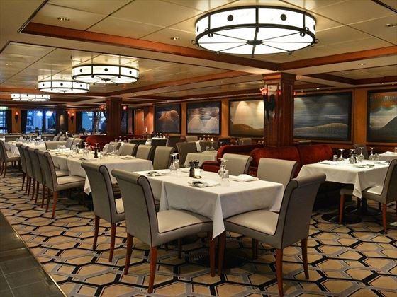 Cagneys restaurant onboard Norwegian Pearl