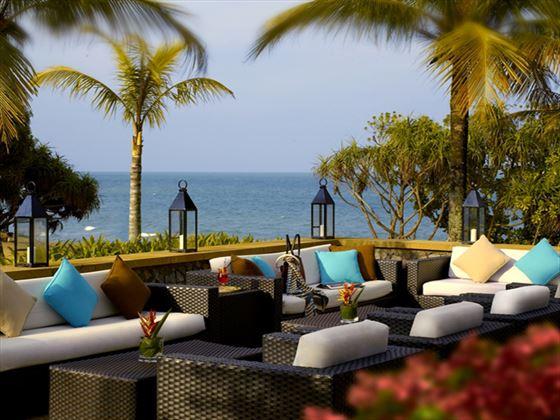 Nelayan lounge terrace at Tanjong Jara Resort