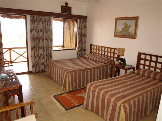 Ngutuni Safari Lodge guest room