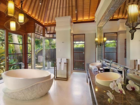 Bathroom at Hilton Bali Resort