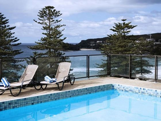 Novotel Sydney Manly Pacific pool