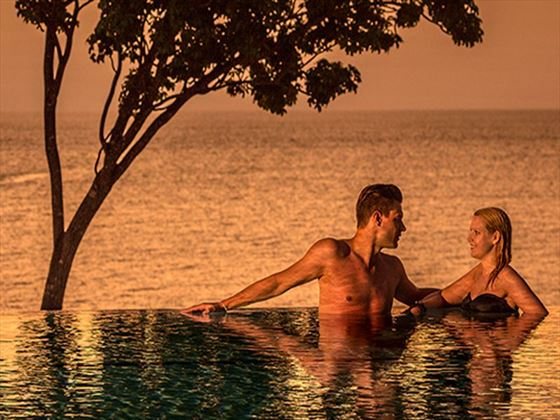 Relaxing honeymoon times