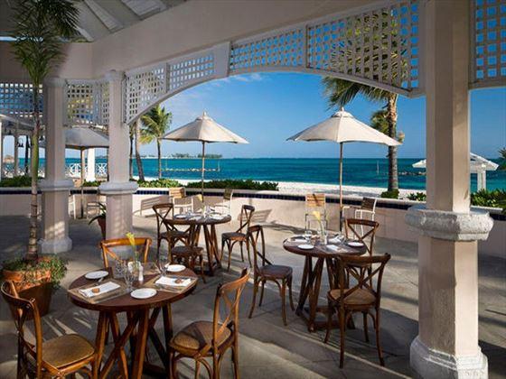 O Grill Restaurant at Melia Nassau Beach