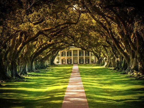 Oak Alley Plantation House, Louisiana