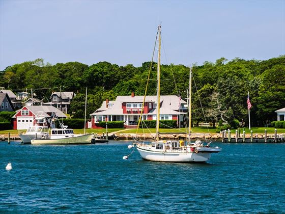 Oak Bluffs on the island of Martha's Vineyard