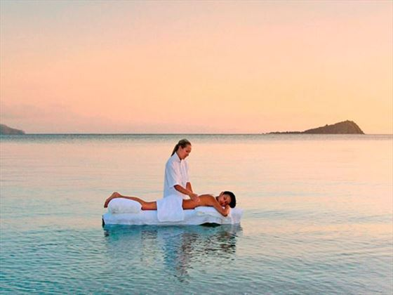 Ocean massage at One&Only Hayman Island spa