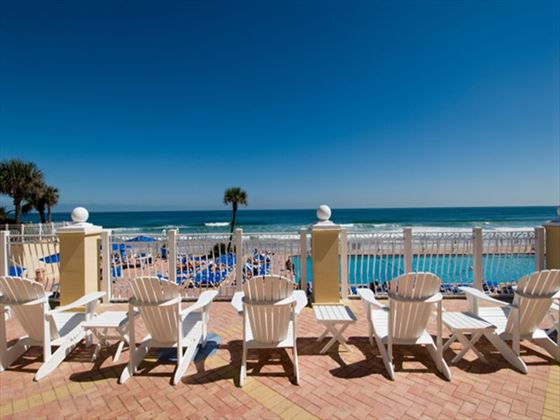 Ocean views at Plaza Resort and Spa
