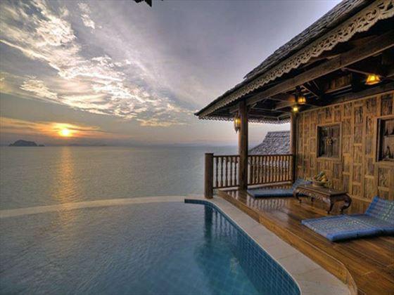 Ocean views from Santhiya Koh Yao Yai