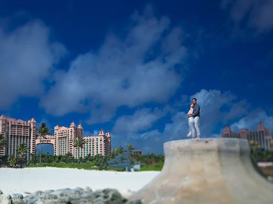 Ocean Steps wedding, Atlantis Bahamas