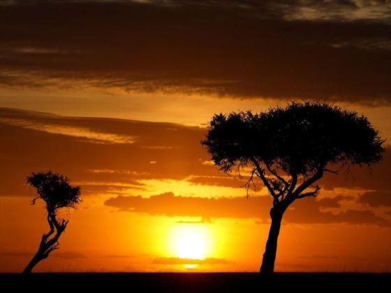 Ol Kinyei sunset