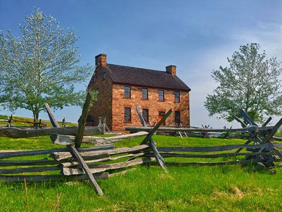 Old stone house, Manassas Battlefield, Virginia