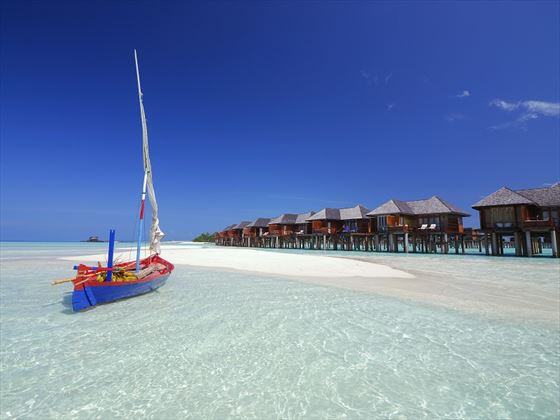 Olhuveli Beach & Spa Resort water villas