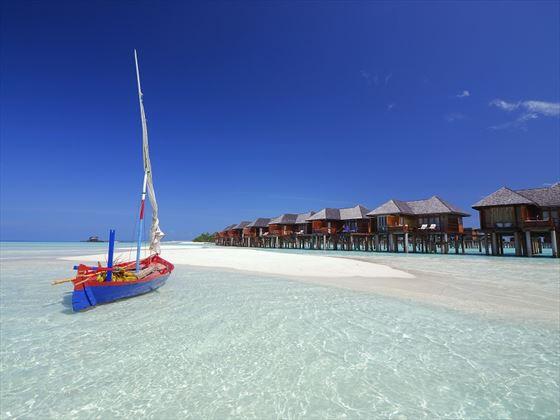Olhuveli Beach & Spa Resort water villas