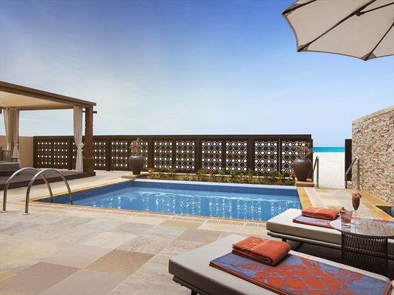 One-Bedroom Beach Villa Private Pool and Beach Access, Saadiyat Rotana