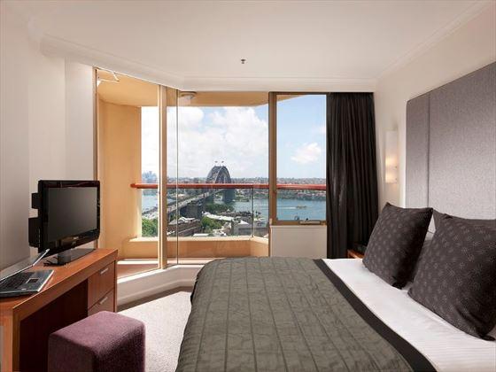 One-Bedroom Harbour View at Quay West Suites Sydney