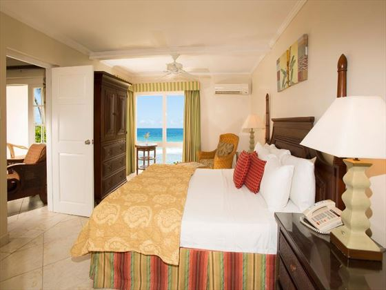 One bedroom suite at The Club Barbados Resort and Spa