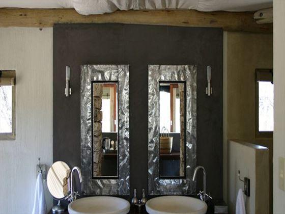 Onguma Tented Camp bathroom