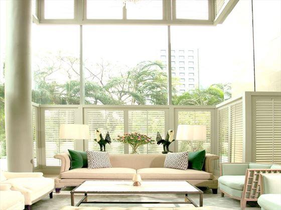 Oriental Residence lobby seating area