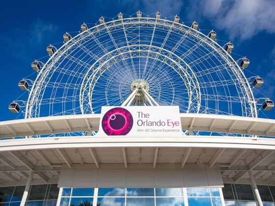 Orlando's newest attraction, the Orlando Eye
