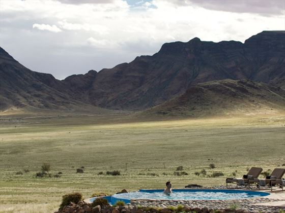 Pool at Sossusvlei Desert Lodge