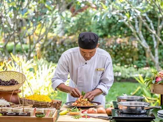 Cooking classes at Outrigger Koh Samui