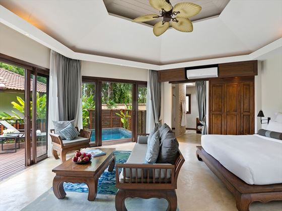 Plunge Pool Suite at Outrigger Koh Samui