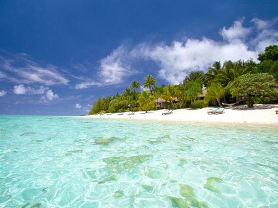 Pacific Resort Aitutaki beach views