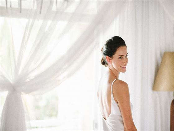 Bride at Paradise Cove Mauritius