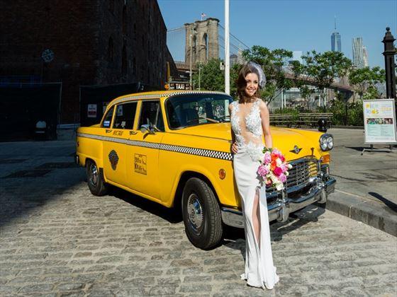 Iconic New York bride