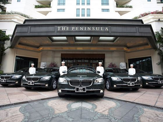 Limousines at The Peninsula, Bangkok