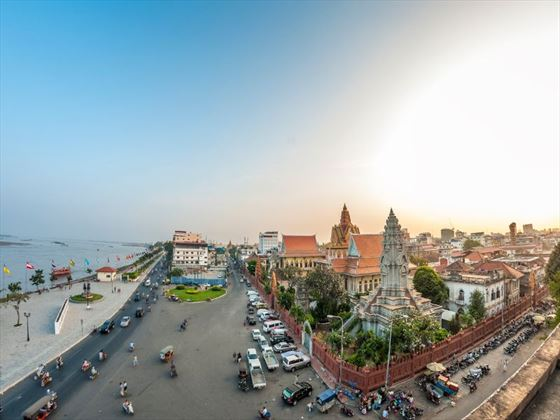Riverfront of Phnom Penh