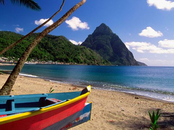 A trip to see the stunning pitons is a must!