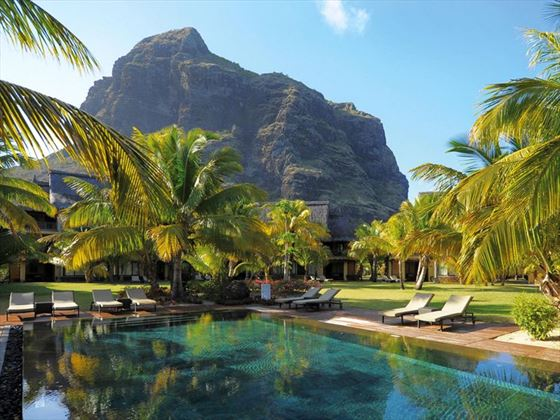 Pool at Dinarobin Hotel Golf & Spa
