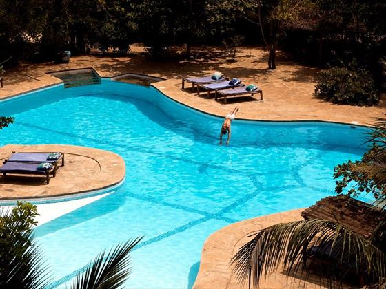 Pool at Kinondo Kwetu
