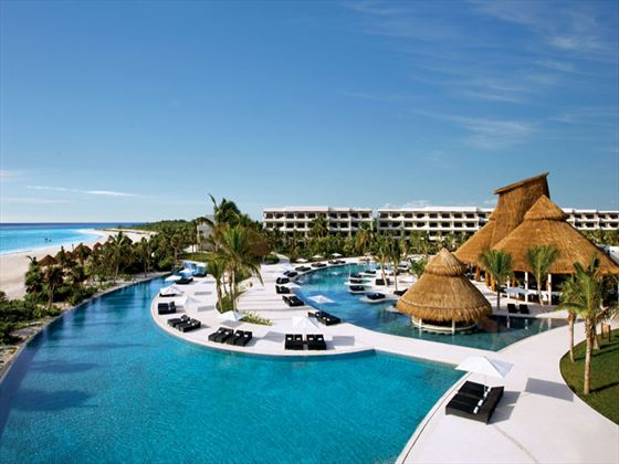 Pool at Secrets Maroma Beach Riviera Cancun