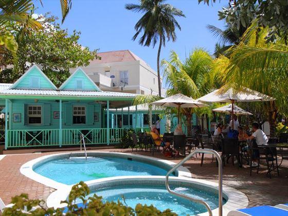 Pool bar at Amaryllis Beach Hotel