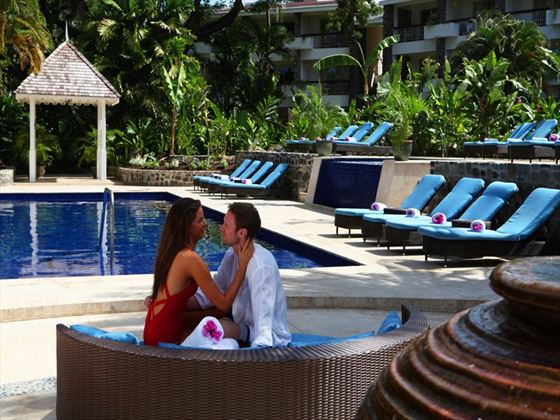 Honeymoon moments, Rendezvous St Lucia