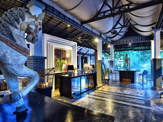 Lobby at Shinta Mani Resort, Siem Reap