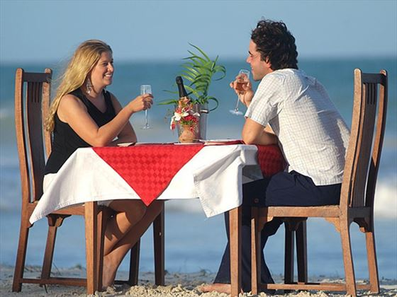 Romantic dinner at Pinewood
