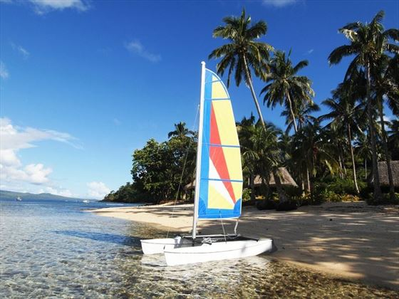 Qamea Resort hobie cat