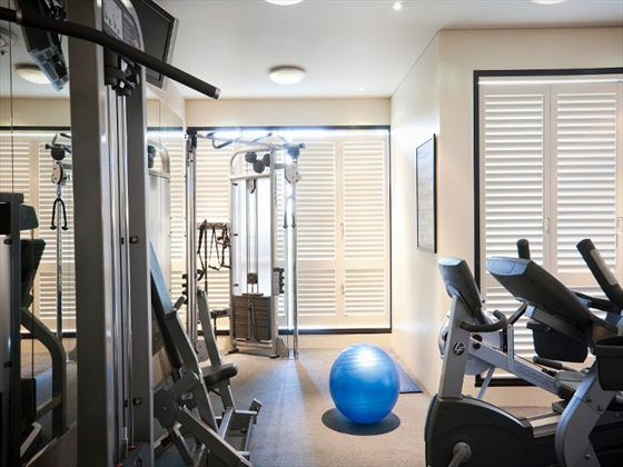 Quay West Suites Melbourne gym