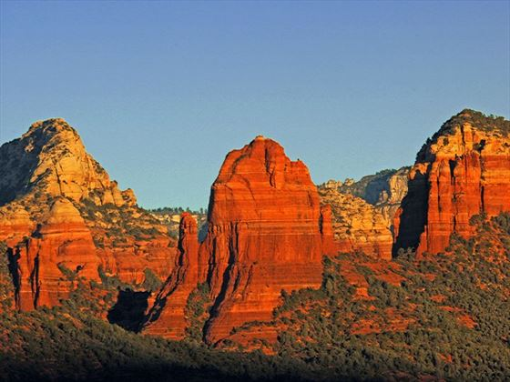 Sunrise over the Red Rocks of Sedona