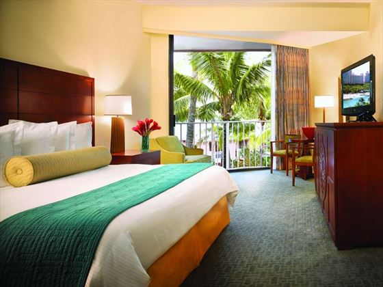 Coral Towers Reef Wind Standard Room at Atlantis Paradise Island