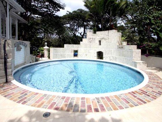 The circular pool